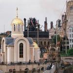 Этапы строительства храма святителя Игнатия Мариупольского
