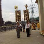 Освящение храма святителя Игнатия Мариупольского 17 июля 2003 года